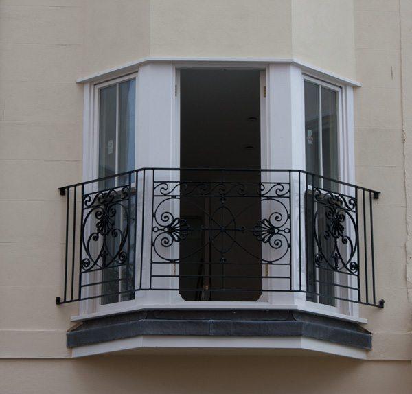 New Wrought Iron Balconies